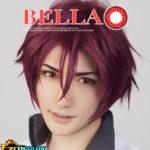 Bella Eye COSCON libero! Iwatobi Swim Club Iwatobi Liceo Matsuoka Gou Red Cosplay di Lense del contatto