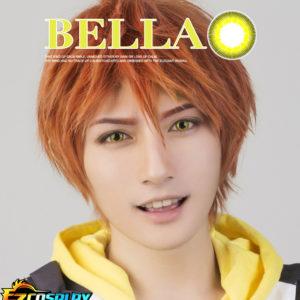 Costumi moda Ezcosplay Bella Eye COSCON libero! Iwatobi Swim Club Iwatobi Liceo Mikoshiba Momotaro Giallo Cosplay di Lense del contatto