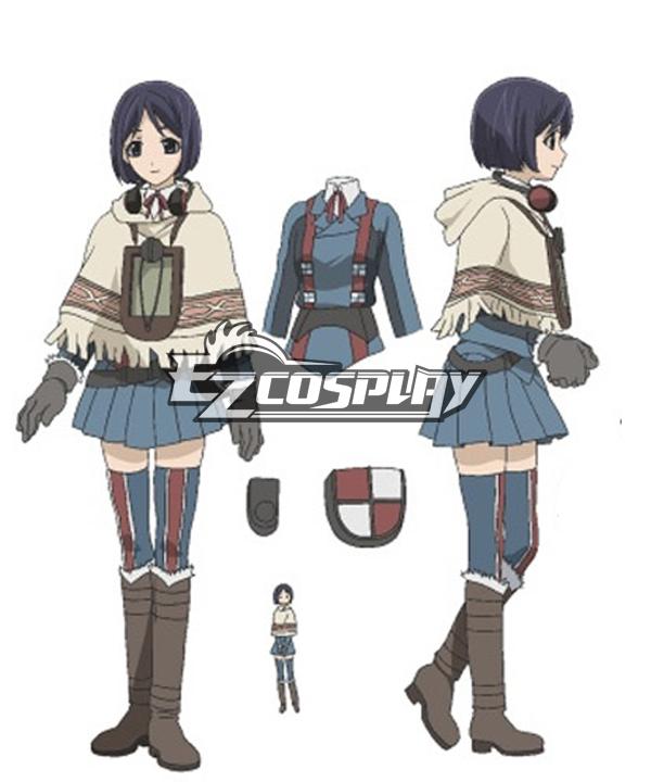 Costumi Fashion Ezcosplay Valkyria Chronicles ìsarà costume cosplay Gunther
