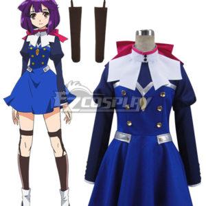 Costumi moda Ezcosplay Calcestruzzo Revolutio Konkuriito Reborutio Choujin Gensou Hoshino costume cosplay Kikko