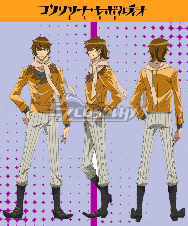 Costumi moda Ezcosplay Calcestruzzo Revolutio Konkuriito Reborutio Choujin Gensou Yoshimura costume cosplay Hyouma