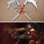 League of Legends Nurse Akali Cosplay Prop
