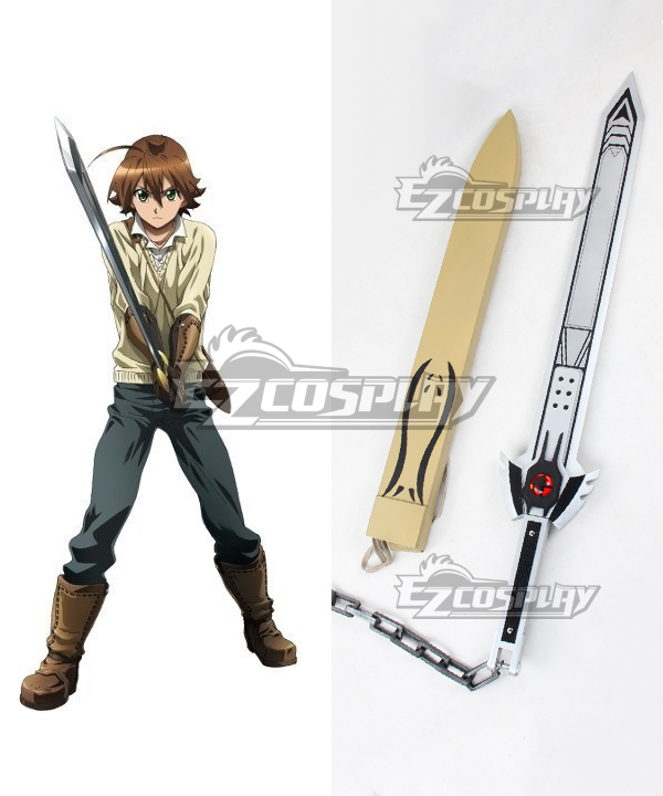 Costumes Fashion Ezcosplay Akame ga KILL! Tatsumi Spada Arma Cosplay