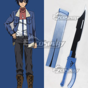 Costumes Fashion Ezcosplay Akame ga KILL! Saluto Spada Arma Cosplay