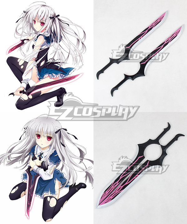 Costumi moda Ezcosplay Absolute Duo Julie Sigtuna Spada di Cosplay Prop