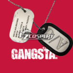 Gangsta Gyangusuta Nicolas Brown Nic Cosplay della collana di Cosplay Accessori Prop