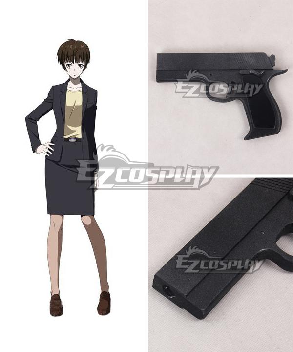 Costumi moda Ezcosplay Psycho-Pass Tsunemori Akane Gun Arma Cosplay Prop