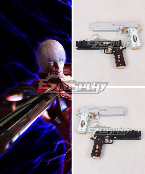Costumi moda Ezcosplay Devil May Cry Dante Gun Arma Cosplay Prop