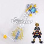 Kingdom Hearts Sora Roxas Keyblade Guardagiuramento Nuovo Cosplay Prop