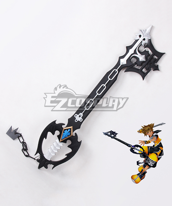 Costumi Moda Ezcosplay Kingdom Hearts Sora Roxas Xion Oblivion Keyblade Cosplay Prop