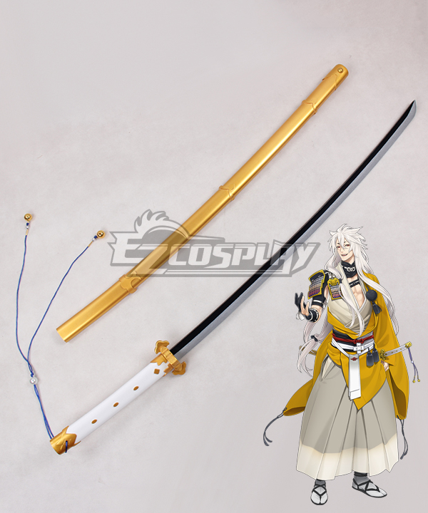 Costumi moda Ezcosplay Touken Ranbu online Kogitsunemaru Swords Cosplay Prop