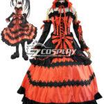 Data Una Tokisaki Kurumi costume diretta Nightmare Cosplay