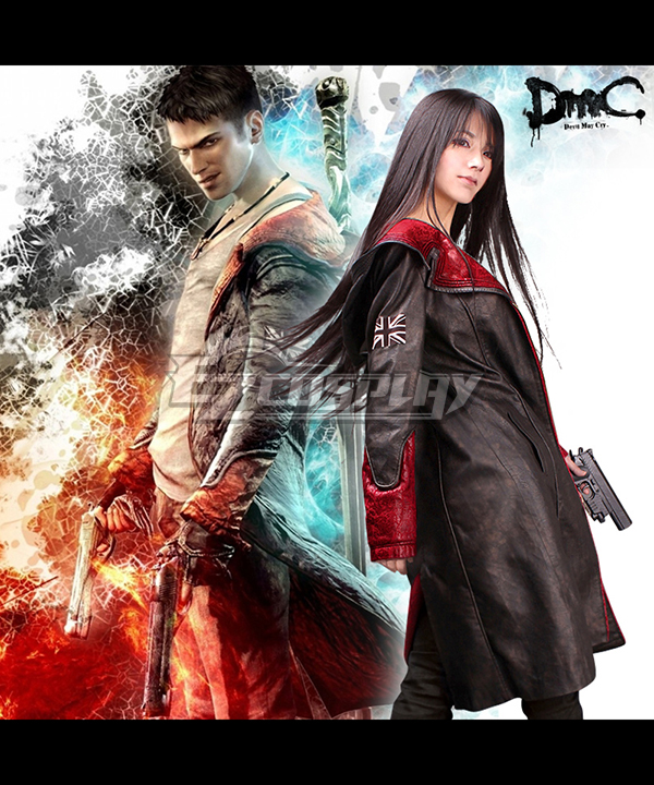 Costumi moda Ezcosplay DmC Devil May Cry 5 costume cosplay Dante