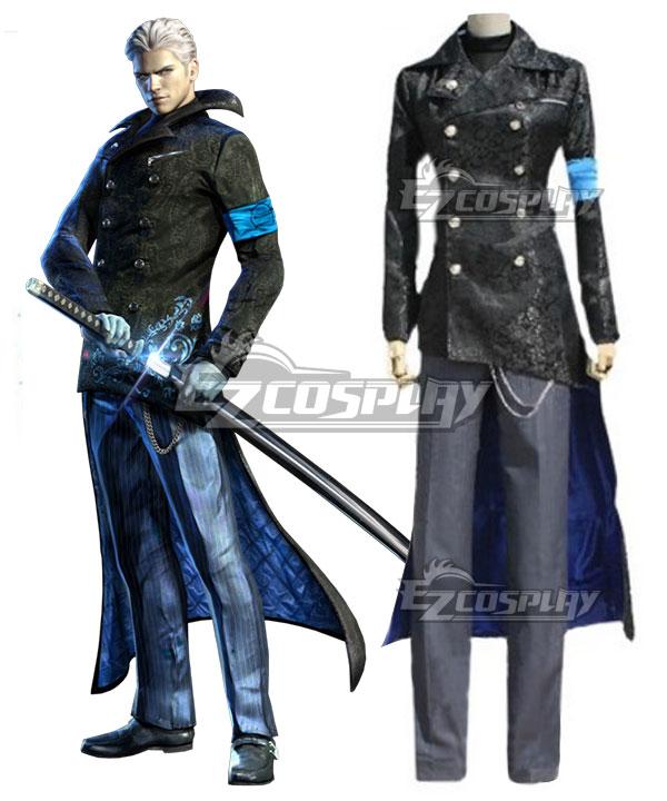Costumi moda Ezcosplay DmC Devil May Cry 5 costume cosplay Vergil