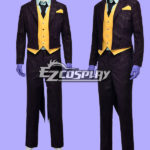 DC Comics Batman Arkham City Joker costume cosplay