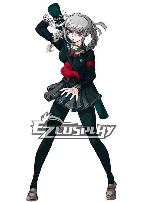 Costumi moda Ezcosplay Super Dangan Ronpa 2 Peko costume cosplay Pekoyama
