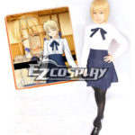 Fate Stay Night Saber costume cosplay