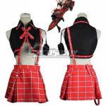 God Eater Alisa Ilyinichna Omela costume cosplay Jinki