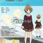 HIBIKE! Euphonium Sapphire Kawashima costume cosplay Midori