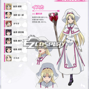 Costumes Fashion Ezcosplay Isuca costume cosplay Isuca