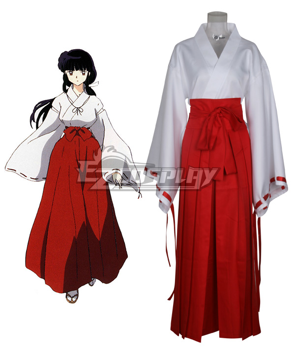 Costumes Fashion Ezcosplay Inuyasha Cosplay Costume Kikyo