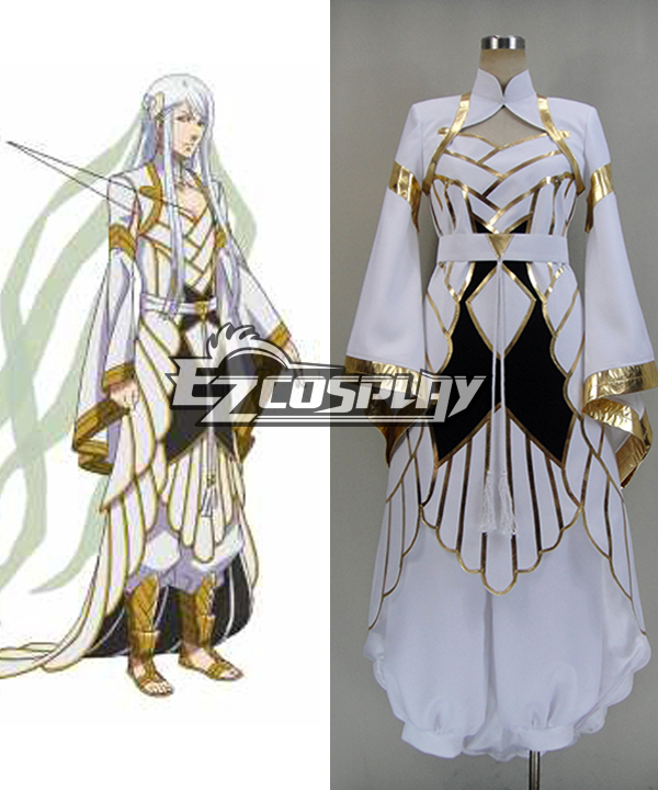 Costumes Fashion Ezcosplay Kamigami no Asobi: Ludere deorum Balder Hringhorni Nuovo Ver. Cosplay