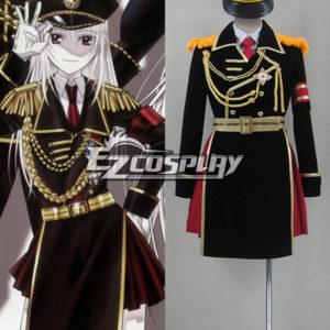 Costumi moda Ezcosplay costume cosplay uniforme K Progetto Kushina Anna militare