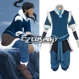 Costumi Moda Ezcosplay Avatar The Legend of Korra Stagione 2 Korra Cosplay