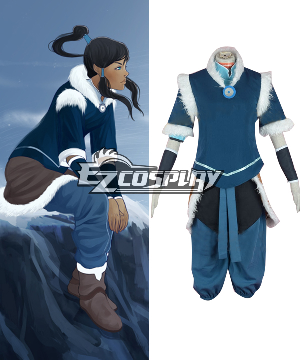 Costumi Moda Ezcosplay Avatar The Legend of Korra Stagione 2 Korra Cosplay