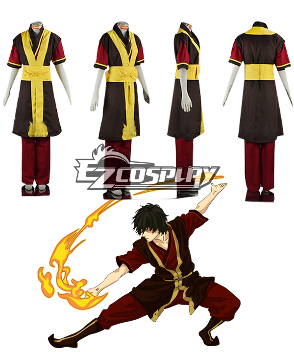 Costumi moda Ezcosplay Avatar: The Last Airbender costume cosplay Zuko
