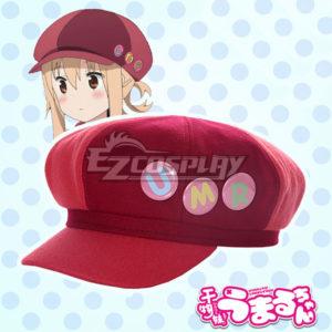 Costumi moda Ezcosplay Himouto! Umaru-chan Doma Umaru UMR Cap Cosplay Accessori Prop