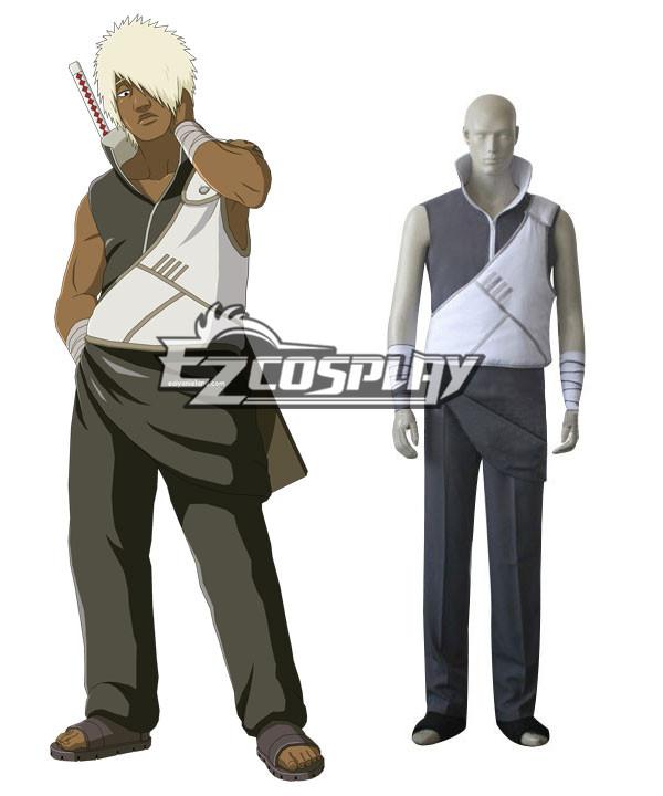 Costumi moda Ezcosplay Naruto costume cosplay Darui