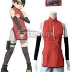Boruto Naruto il costume cosplay film Uchiha Sarada