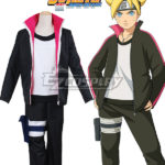 Boruto Naruto il costume cosplay film Uzumaki Boruto