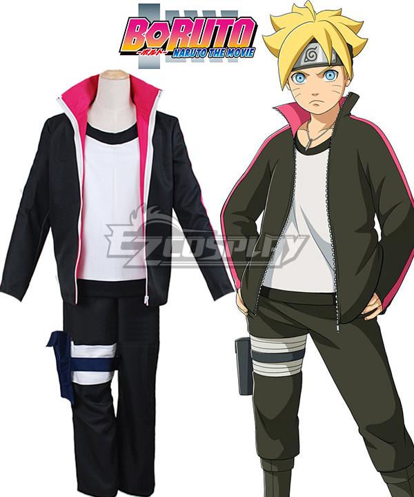 Costumi moda Ezcosplay Boruto Naruto il costume cosplay film Uzumaki Boruto