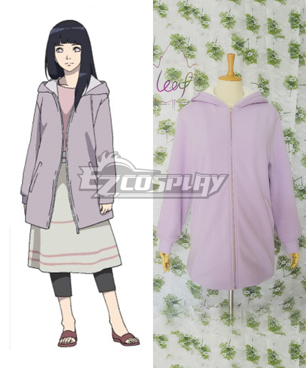 Costumi moda Ezcosplay Naruto Il film The Last costume Cosplay Hinata