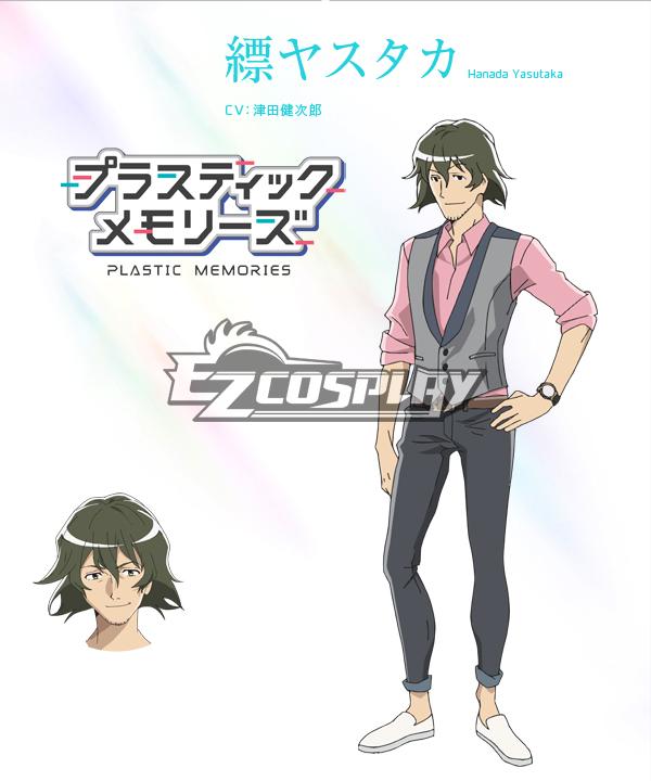 Costumi Fashion Ezcosplay Yasutaka Hanada costume cosplay Memorie di plastica
