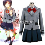 costume cosplay uniforme Tokyo Ghoul Touka Kirishima Scuola