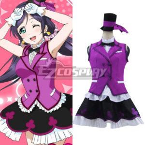 Costumes Fashion Ezcosplay LoveLive! R Un giorno costume cosplay Nozomi Tojo