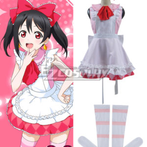 Costumes Fashion Ezcosplay Love Live! R Un giorno costume cosplay Nico Yazawa