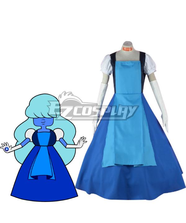 Costumi moda Ezcosplay Steven universo Sapphire Laughy Sapphy costume cosplay Rubino