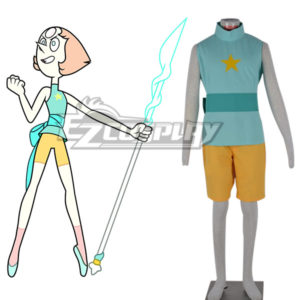 Costumi Fashion Ezcosplay costume cosplay Steven Universe New Pearl