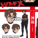 Triage X Arashi costume cosplay Mikami