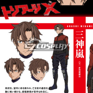 Costumi Fashion Ezcosplay Triage X Arashi costume cosplay Mikami