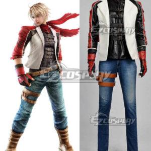 Costumi moda Ezcosplay Tekken 6 Leo Kilsen Cosplay Deluxe Suit