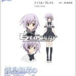 illimitato Fafnir Firill costume cosplay Crest