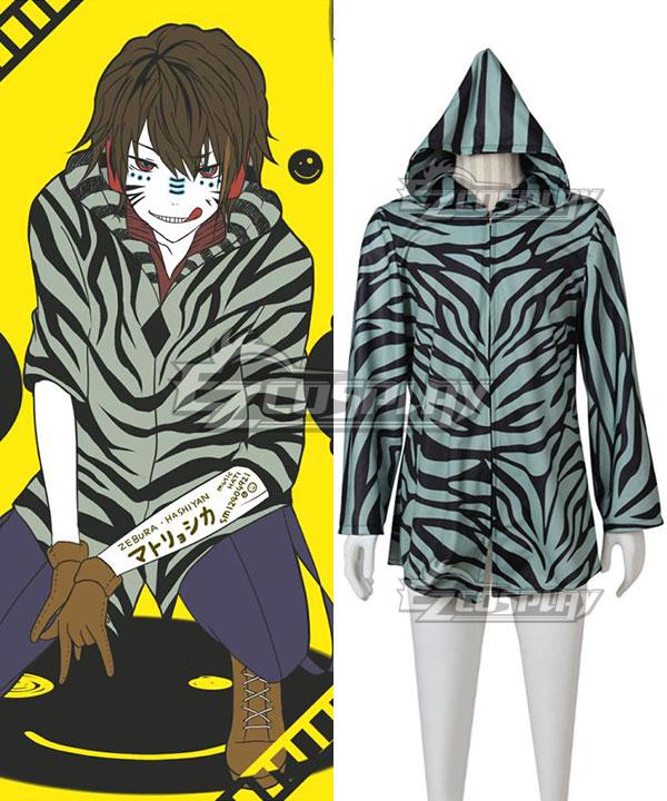 Costumi moda Ezcosplay Vocaloid Matryoshka con cappuccio indossato da Zebra Cosplay