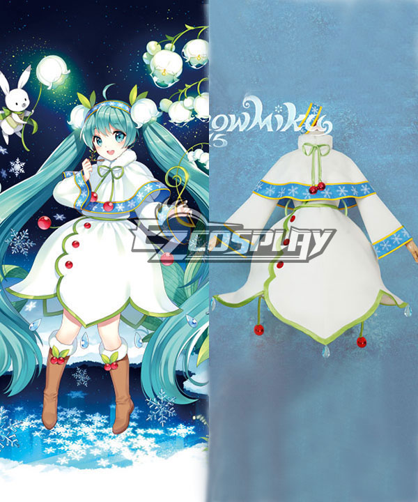 Costumi Fashion Ezcosplay Vocaloid 2015 Neve costume cosplay di Miku