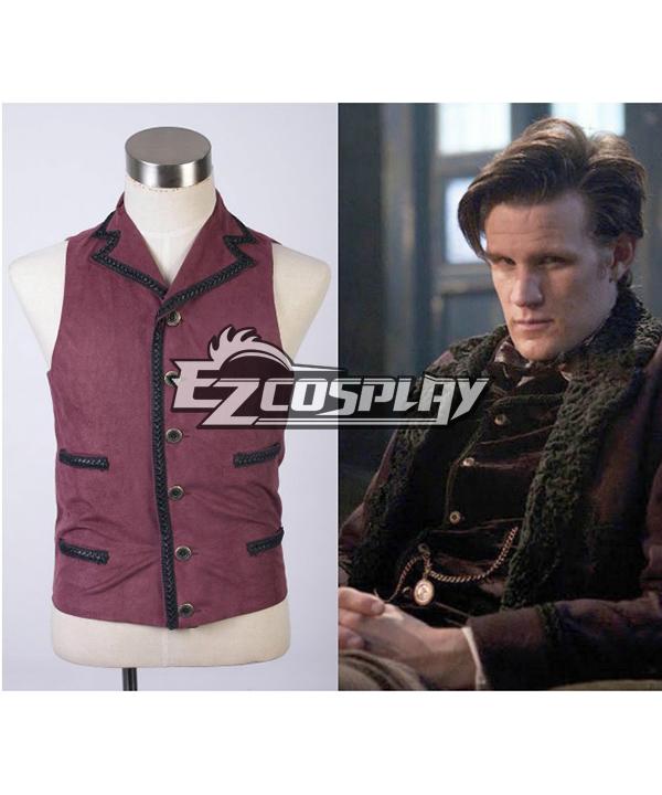 Costumi Moda Ezcosplay Doctor Who Undicesimo 11 Dr. Viola costume cosplay Vest