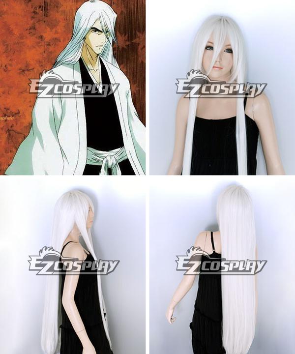 Costumi Fashion Ezcosplay Bleach Jushiro Ukitake cosplay parrucca EWG0034